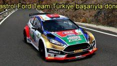 Castrol Ford Team Türkiye Kanarya Adaları'ndan başarıyla döndü