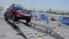 Ford Kuga ve Ranger test sürüşlerine çıktı