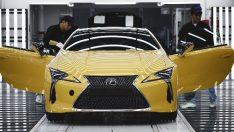 Lexus, yeni süper coupe LC'nin üretimine başladı