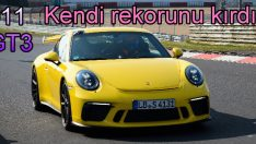 Yeni 911 GT3 kendi rekorunu kırdı!
