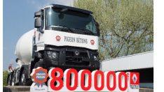 Renault Trucks'dan 800 bininci kamyon teslimatı