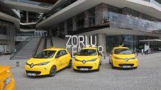 Elektrikli taksiler Zorlu Center'da göreve başladı!