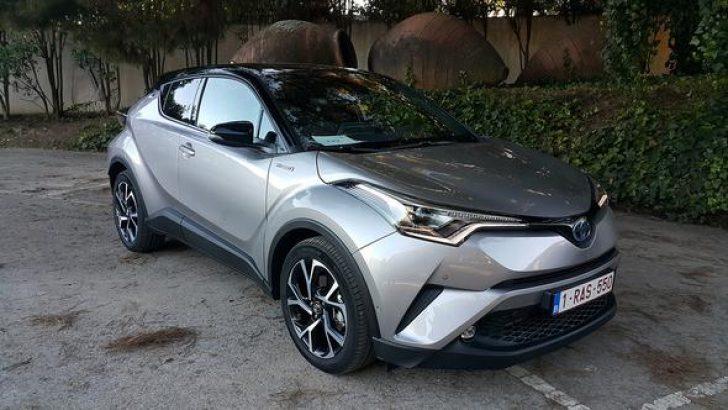 Toyota C-HR Avrupa'da 80,000 sipariş aldı