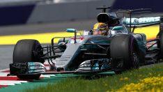 Mercedes AMG Petronas Britanya'da serisini 5'e yükseltmek istiyor