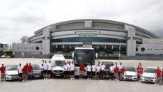 Mercedes Avrupa Basketbol Şampiyonası'nın sponsoru oldu