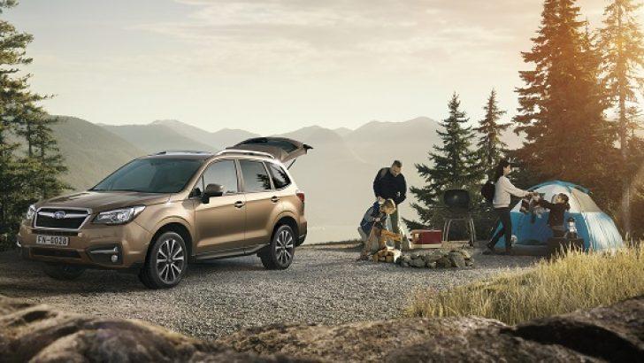 Subaru Forester'a yeni sistemler eklendi