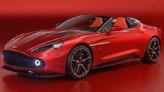 2017 Aston Martin Vanquish Zagato Speedster
