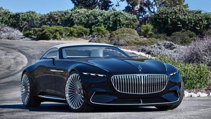 2017 Mercedes-Benz Vision Maybach 6 Cabriolet Concept