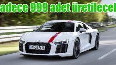 Audi R8 V10 RWS sadece 999 adet üretilecek