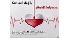 Avek çalışanları ve müşterilerinden kan bağışı kampanyası