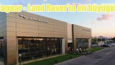 En büyük Jaguar – Land Rover Showroom'u açıldı