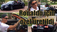 Ronaldoya'a özel 10 milyon TL'lik Bugatti!