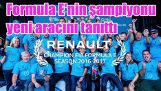 Formula E şampiyonu yeni otomobilini tanıttı