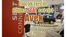 Türkiye'nin en çok tercih edilen Seat Yetkili Servisi Avek oldu