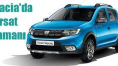 Dacia'da sıfır faiz fırsatı başladı!