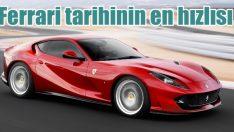 Ferrari tarihinin en hızlısı 812 Superfast Türkiye'de!