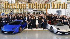 Lamborghini'den üretim rekoru
