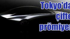Mazda'dan Tokyo'da çifte prömiyer