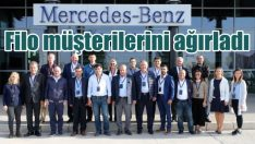 Mercedes filo müşterilerini fabrikada ağırladı