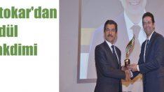 Antalya Belediyesi ödülünü Otokar'dan aldı!