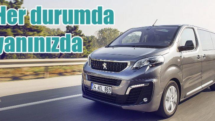 Her durumda yanınızda: Peugeot Expert Traveller