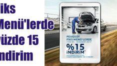 Peugeot'da bakım kampanyası
