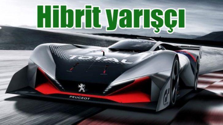 Peugeot'nun hibrit yarışçısı