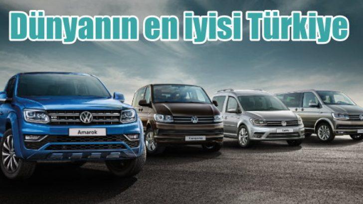 VW Ticari'de dünyanın en iyisi Türkiye