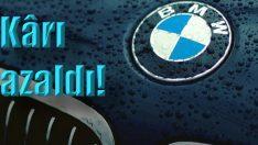 BMW'nin kârı azalıyor!