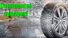 Continental uyarıyor: Kış şartlarına hazırlıklı olun!