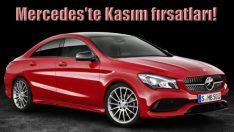 Mercedes'ten Kasım ayı fırsatları