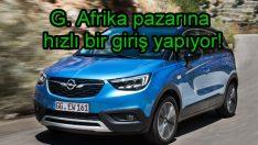 Opel'den Güney Afrika atağı!