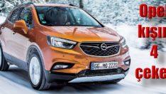 Kışın güvenli ve konforlu bir seyahat için Opel '4' çeker