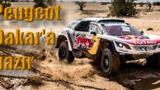 Peugeot 'Dream Team' Dakar'a hazır!