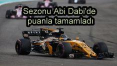 Renault sezonu puanla noktaladı