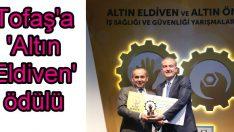 'Altın Eldiven' ödülü Tofaş'ın oldu!