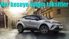 Toyota'dan her bütçeye uygun taksit fırsatları