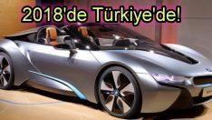 BMW i8 Roadster yüzünü gösterdi!