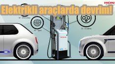 Honda'dan 'Çift Yönlü Şarj' devrimi