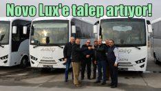 Isuzu'dan 9 adet Novo Lux teslimatı