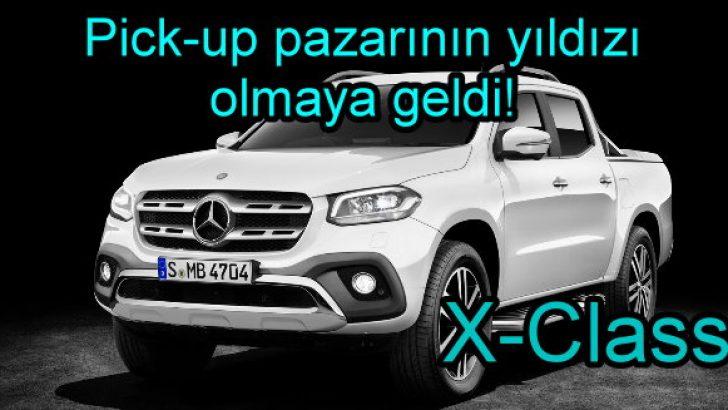 Mercedes'ten X Class Pick-up!