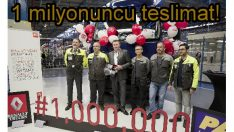 Renault'dan 1 milyonuncu kamyon