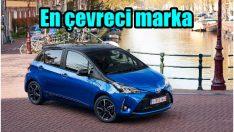 Dünyanın en çevreci otomobil markası oldu