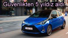 Yeni Toyota Yaris'e Euro NCAP'ten 5 yıldız