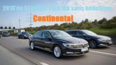 Continental 44 milyar Euro'luk satış yaptı