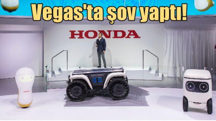 Las Vegas'ta Honda şov