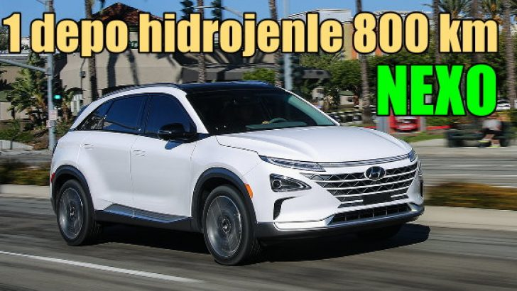 Bir depo hidrojenle 800 kilometre yol gidiyor!