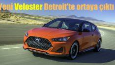 Hyundai Veloster Detroit'te görücüye çıktı