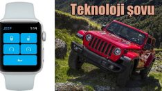 Jeep Wrangler'dan teknoloji şovu!