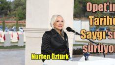 Opet tarihe saygı projesine Akbaş Şehitliği ile devam ediyor!